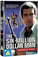 The Six Million Dollar Man: Series 2 DVD (2013) Lee Majors cert PG 6 discs