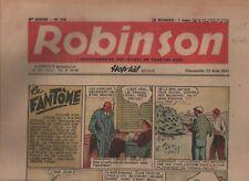 ROBINSON n°254. Zone Libre 22 juin 1941. Bel état (réf. RC29)