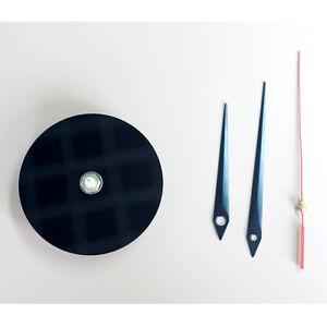 Clock Mechanism Quartz Movement Silent Replacement Sweep Round With Hands DIY