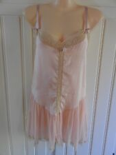 True Vintage 1920s Nanette Undees Cami Knickers Play Suit French Lace Lingerie