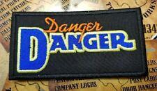 EMBROIDERED DANGER DANGER ROCK BAND PATCH