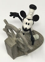 WDCC Walt Disney Classic Collection Mickey's Debut From Steamboat Wille COA/BOX