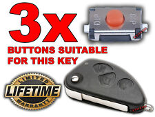 3x SWITCH BOUTON TELECOMMANDE CLE ALFA ROMEO 147 156 166 GT 2.0 JTD Q4 TWINSPARK