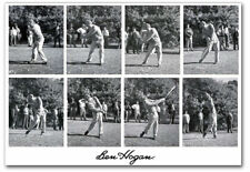 """Ben Hogan And His Swing Black And White Refrigerator Magnets Size 2.5"""" x 3.5"""""""