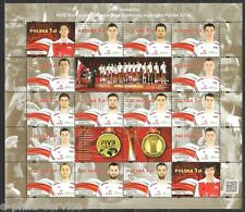 VOLLEYBALL - FIVB Poland 2014 - Gold Medalists Championships in Men's MNH, **