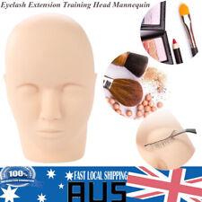 AU Massage Training Mannequin Head Makeup Practice Eyelash Lashes Extension AU