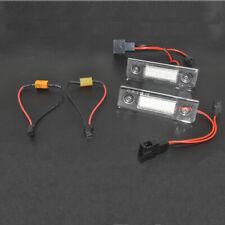 2X Car Canbus Error Free LED License Plate Light for Skoda Octavia Roomster 5J