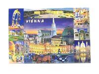 Wien Vienna Foto Magnet 8 cm Souvenir Österreich Stephansdom Neu