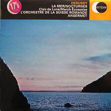 ECS 515 Debussy La Mer Nocturnes Ansermet Suisse Romande DECCA Eclipse NM/EX