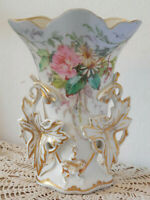 """Nice OLD FRENCH WEDDING VASE made of """"PORCELAINE DE PARIS"""" dating 19th century"""