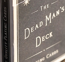 Limited Edition The Dead Man's Deck Playing Cards - LIMITED EDITION