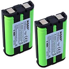 2x HQRP Phone Battery for Panasonic HHR-P104 CS90499 TL26411 12423885 Type 29