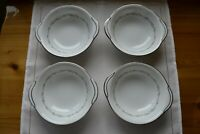 Set of 4 VTG Noritake Crestmont Lugged Cereal Soup Bowls