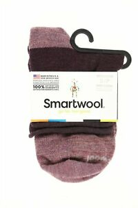 SmartWool 249354 Womens Luna Mini Boot Socks Bordeaux Heather Size Small