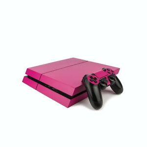 PS4 PlayStation 4 Colourful Vinyl Wrap: Matte Rose / PlayStation 4 PS4 Skin S...