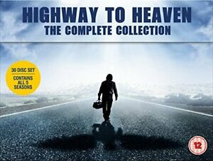 HIGHWAY TO HEAVEN SEASONS 1 TO 5 COMPLETE COLLECTION DVD [UK] NEW DVD