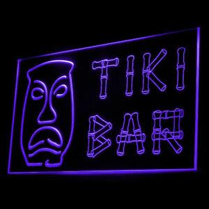 170032 Tiki Bar Bamboo Display Tent Mobile Party Display Neon Sign