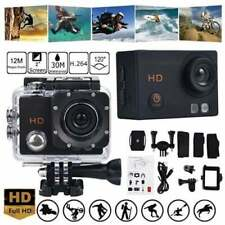 "Sports Action Camera 1080P 30FPS HD DV 2"" LCD 30M Waterproof (US Seller, NEW)"