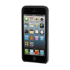Skin, cover in similpelle - Apple iPhone 5 / 5S / SE - Nero