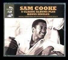 Sam Cooke 8 Classic Albums + Adicional Singles 88 Songs 4 CD'S 1957-1960 Oldies