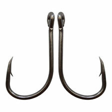 Carbon Steel Fishing Hooks O'shaughnessy Live Bait Carp 7/0 Circle Hooks 50 Pack