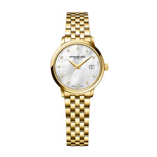 Raymond Weil Ladies Toccata Gold Plated Watch. 5988-P-97081