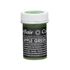 Sugarflair APPLE GREEN Pastel Paste Gel Edible Concentrated Food Colouring
