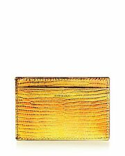 Paul Smith Paul Smith slim metallic leather card wallet. Made in Italy.