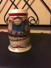 Budweiser Clydesdale Holiday at The Capitol 2001 Christmas Stein
