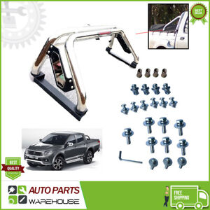 Fit Fiat Fullback Full Back Stainless Steel Sports accessories Roll Bar Bl M399