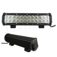 12Inch 72W Cree Motorcycle Motor SUV ATV OffRoad Driving LED Work Light Bar DRL
