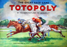TOTOPOLY -The Great Race Game   - Vintage RETRO Board Game - VGC - Free UK PP