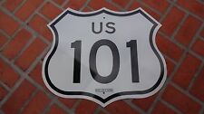 California Route US 101 Road Reflective Highway Sign 28 x 24 AUTHENTIC  GENUINE