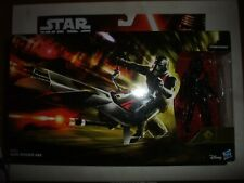 Star Wars Elite Speeder Bike Vehicle with 3.75 Stormtrooper figure moc carded