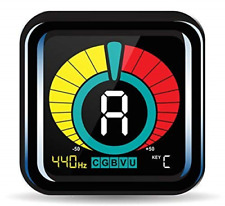 Kliq UberTuner - Professional Clip-On Tuner for All Instruments - with Guitar, &