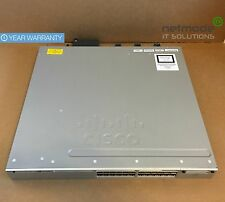Original Cisco WS-C3850-24T-L Gigabit Switch 3850 24 Port 350 WAC LAN Base