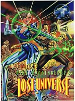 1995 Tekno Comix Gene Roddenberry's Lost Universe Promo Card Oversized