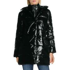 Betsey Johnson Mujer Brillante Acolchado Abrigo Largo De Invierno Acolchado