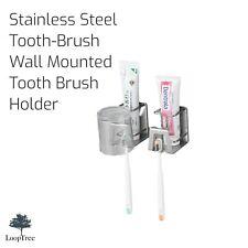 Toothbrush Holder Stainless Steel 2 Pack!!!!!!!