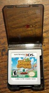 Animal Crossing: New Leaf + Plastic Case (Nintendo 3DS 2013) VG Shape & Tested