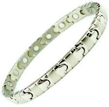 Magnet Magnetic Titanium Energy Power Bracelet Health Bio Armband Ciff wristband
