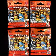 Lot of 4 LEGO 71011 Minifigures Series 15 Factory-Sealed Blind Bags