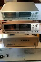 FOR PARTS: Realistic SCT-28 Stereo Dual Cassette Deck: Model 14-641
