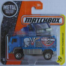 Matchbox - Desert Thunder V16 Rallye-Truck blau Neu/OVP