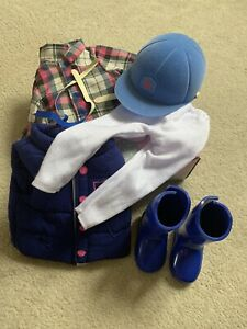 Chad Valley Design A Friend Doll Horse Riding Outfit Complete In Box