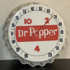 Dr Pepper 10 2 4 Soda Thermometer Sign
