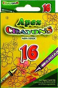 Crayons 16ct. Boxed, Case Pack of 48, Ideal for Bulk Buyers