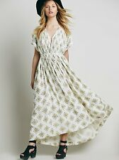 NEW FREE PEOPLE Oasis Maxi Dress - M 14 16 18 20 - Boho Gypsy Spring Summer