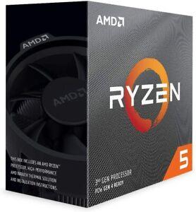 AMD Ryzen 5 3600 Processore 6C / 12T, 35 MB di cache, 4,2 GHz Max Boost GRADO A