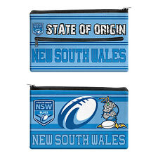 2017 State of Origin NSW New South Wales Pencil Case for School Work stationary